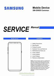 Samsung Galaxy S9  Plus Service Manual  U2013 Sm