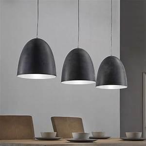 Esszimmertisch Lampe : esstisch h ngeleuchte spika in dunkelgrau im factory style ~ Pilothousefishingboats.com Haus und Dekorationen