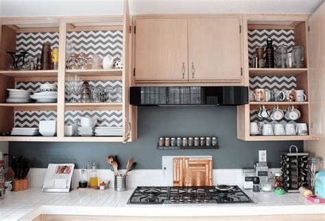 should you line your kitchen cabinets designing your kitchen cabinet liner ideas