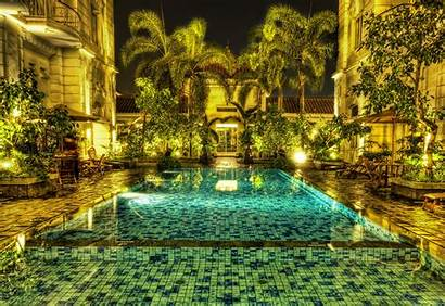 Jungle Indonesia Jakarta Pool Mosaic Hdr Wallpapers