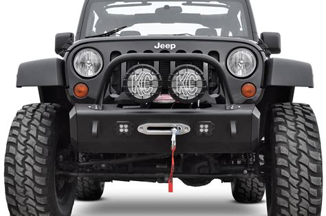 jeep jk stealth fighter front bumper add offroad