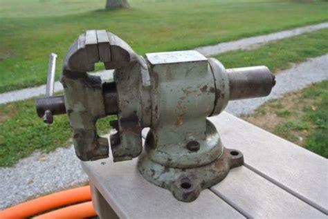 Old Bench Vise Vintage Antique Unique Bench Vise What S It