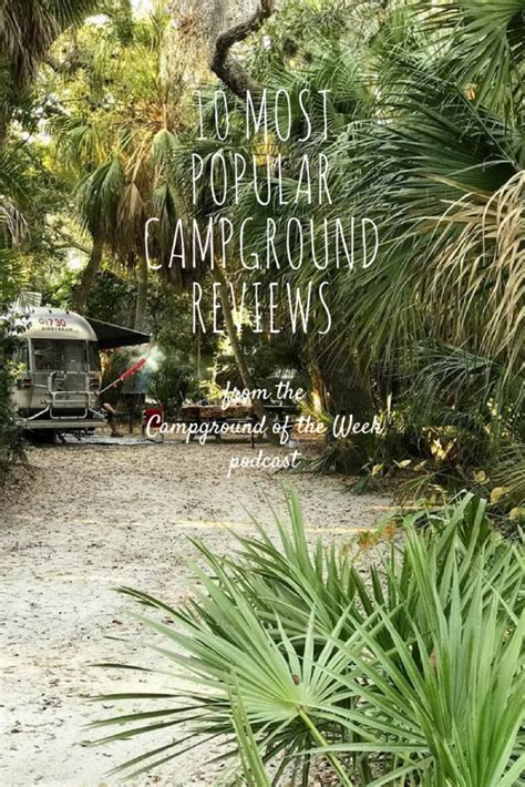 10 Most Popular Campground Reviews From Campground Of The Week