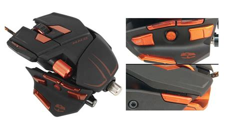 Mad Catz Cyborg Mmo 7 Gaming Mouse 78 Programmable