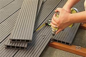 Poser Une Terrasse En Composite : prix d 39 une terrasse composite tout sur les tarifs et devis ~ Melissatoandfro.com Idées de Décoration