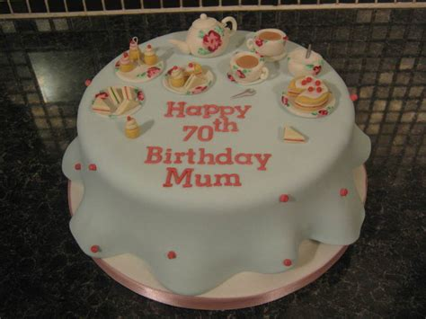 Afternoon Tea Themed Cake Cath Kidston Inspired Design All