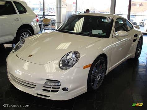 white porsche 911 turbo 2009 cream white porsche 911 turbo coupe 1631665