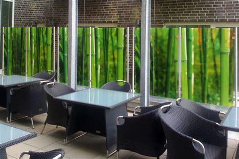 Sichtschutz Garten Glas Bedruckt by Glas De Sichtschutz Terrasse