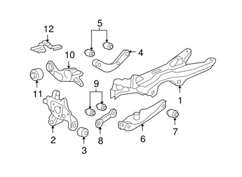 Oem Chevrolet Malibu Rear Suspension Parts