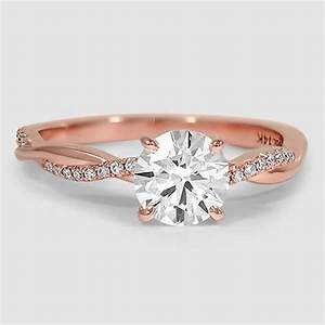 wedding ring best 25 rose gold rings ideas on pinterest With gold wedding and engagement rings