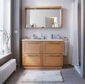 Meuble Salle Bain Castorama : choisir des meubles de salle de bains castorama ~ Melissatoandfro.com Idées de Décoration