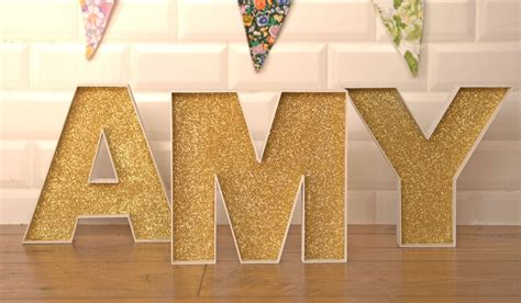 decorate fillable wooden letters projects diy
