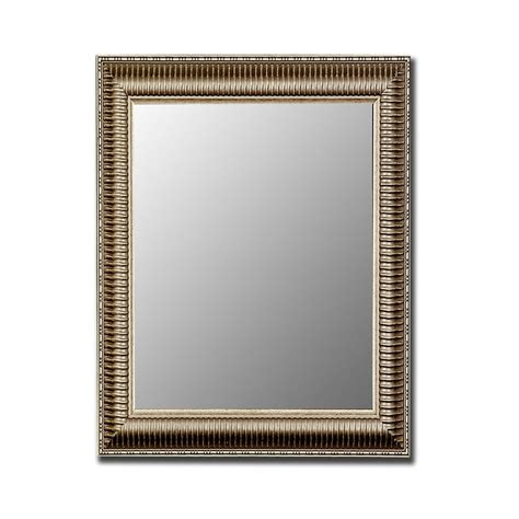Silver Bathroom Mirror Lowes by Shop Hitchcock Butterfield Antique Silver Beveled Wall