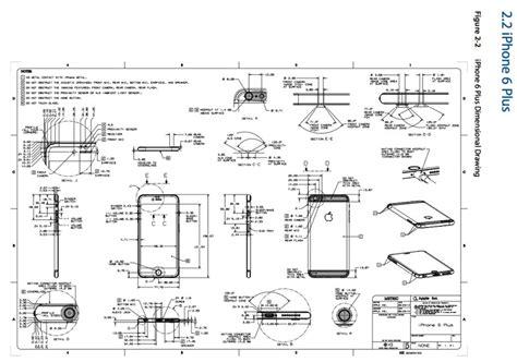 apple posts detailed phone  design schematics  case