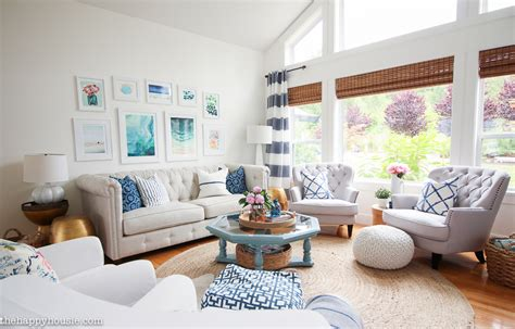 House Tour  The Happy Housie. Dining Room Tables Chicago. White Dining Room Chairs Modern. The Living Room Australia. Kid Friendly Living Room. Simple Indian Living Room Designs. Living Room With Dining Area. Leons Dining Room Sets. Small Living And Dining Room