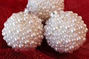 Pearl Christmas Tree Ornaments - Two Sisters