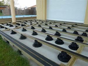 Pose Terrasse Bois Sur Gravier : pose d une terrasse en bois sur sol meuble wasuk ~ Premium-room.com Idées de Décoration