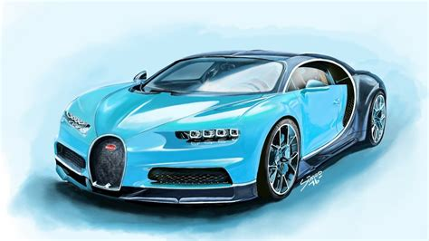 Subscribe to see more of my drawing tutorials: DRAWING THE BUGATTI CHIRON - YouTube