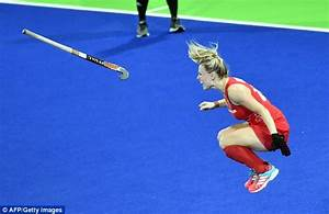 Great Britain's women's hockey win gold after penalty ...