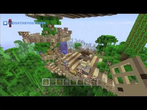minecraft xbox      jungle tree house building ideas tu xbox jungle biome