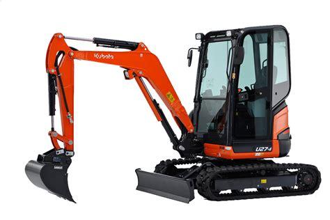kubota   mini excavator warnock plant hire