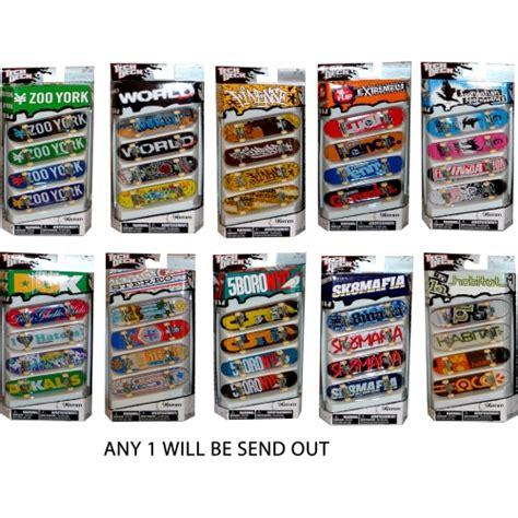 Tech Deck Ebay Canada by Tech Deck Finger Skateboard 4pk Assorted Brand New