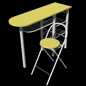 Table Et Chaise De Cuisine : meubles pour sweet home 3d infernal quack ~ Teatrodelosmanantiales.com Idées de Décoration