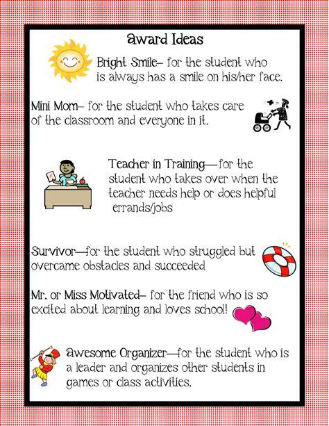 kindergarten squared awards ideas for your kiddos 749 | award ideas5