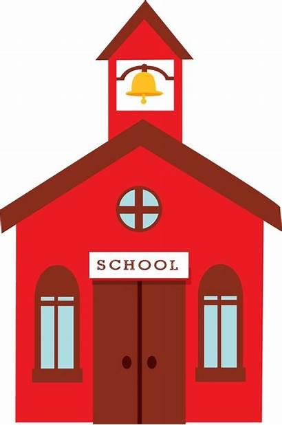 Clipart Apple Clip Schoolhouse Minus Escola Craft