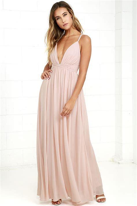 light blush pink dress blush pink dress maxi dress blush pink gown 86 00