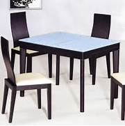 Contemporary Functional Dining Room Table In Black Wood Grain Furniture Concord Black 7 Piece 54x38 Leg Table Dining Room 60 Round Dining Room Table Sets Dining Room Black Dining Room Table Round Pedestal Dining Room Tables Design Round Black Dining Table