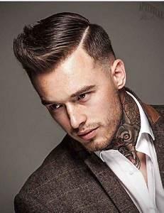 Raie Sur Le Coté Homme : 20 coiffures homme vraiment sexy rep r es sur insta femme actuelle ~ Melissatoandfro.com Idées de Décoration