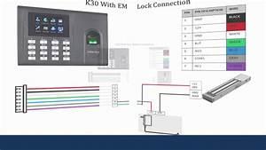 Zkteco K40 Wiring Diagram
