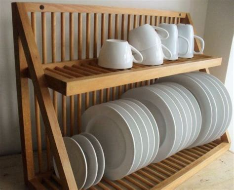 wooden kitchen plate rack cabinet 25 best ideas about plate storage on 1961