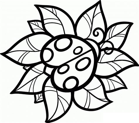 free printable ladybug coloring pages for kids crafty