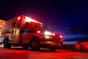 Ambulance At Night | Wallpapers Background