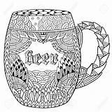 Beer Mug Drawing Coloring Getdrawings Glasses Doodle Hand sketch template