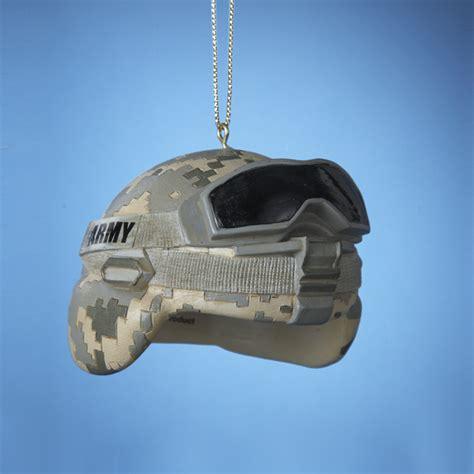 united states army combat helmet christmas ornament
