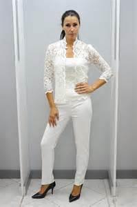 tailleur pantalon mariage haut habillé femme blanc dans votre boutique de marseille cérémonie prêt à porter féminin à