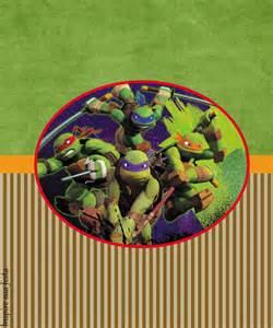 Free Printable Ninja Turtle Labels