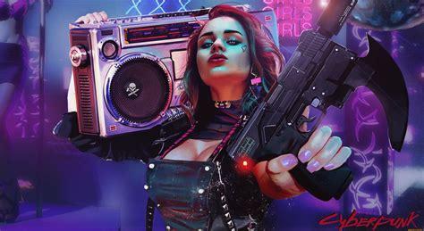 cyberpunk girl artwork  hd artist  wallpapers