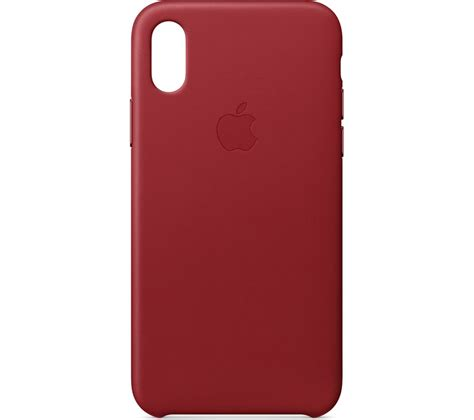 apple leather iphone apple iphone x leather product deals pc world