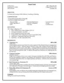 resume document appears to crashed word