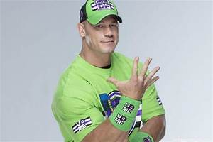 John Cena In Green T-Shirt – Swaggy Images
