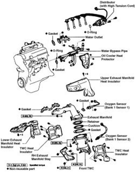 Toyotum 2 4 Engine Intake Manifold Diagram by Repair Guides Engine Mechanical Components Exhaust