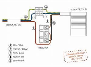 Branchement Volet Roulant électrique : sch mas ~ Melissatoandfro.com Idées de Décoration