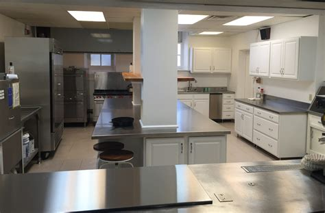 spacious commercial kitchen remodel   church