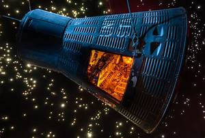 Mercury Capsule, Space Center Houston | Dave Wilson ...