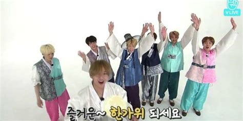 Ask K-pop Bts Members Dress Up In Hanbok And Play