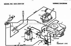Craftsman 502256136 Parts List And Diagram